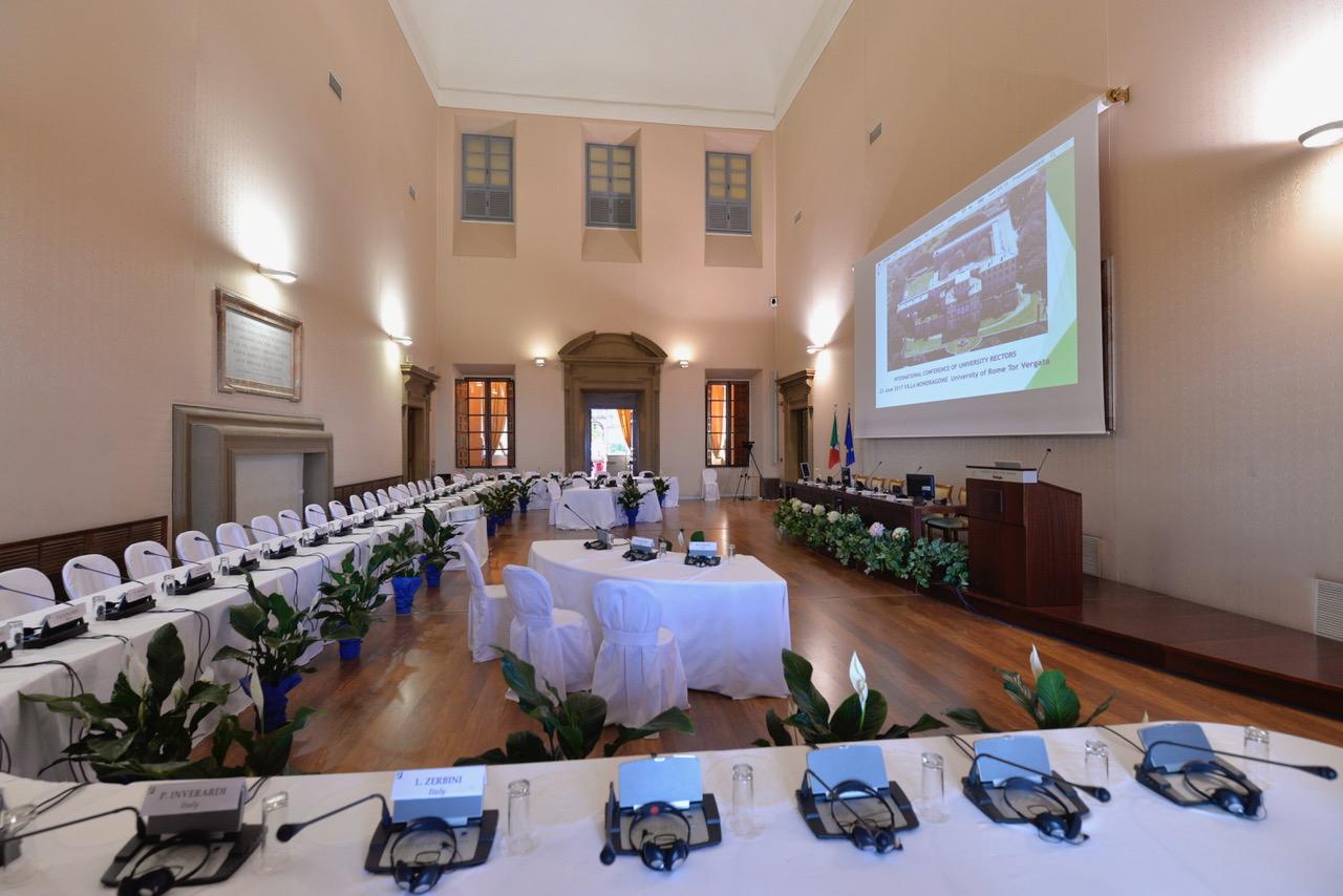 Villa Mondragone - Sala degli Svizzeri