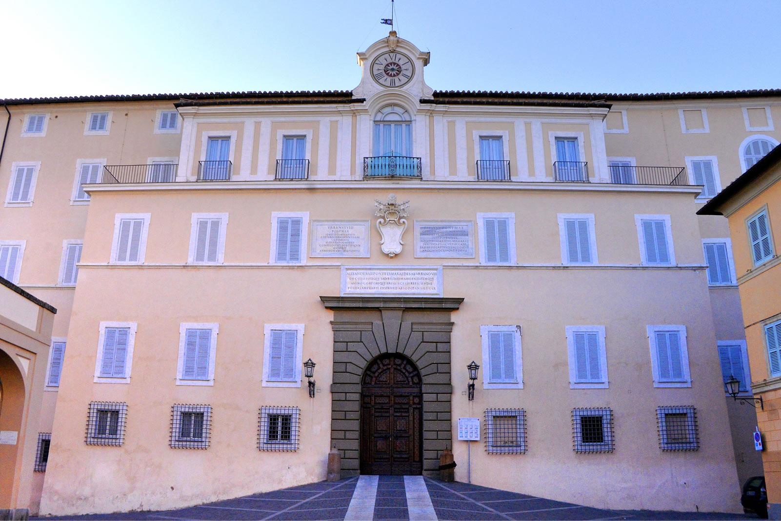 Castelgandolfo, Palazzo Pontificio