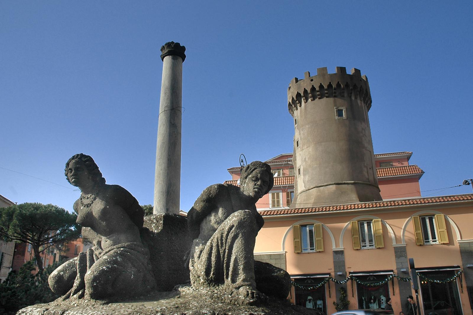 Marino, la Fontana dei Mori