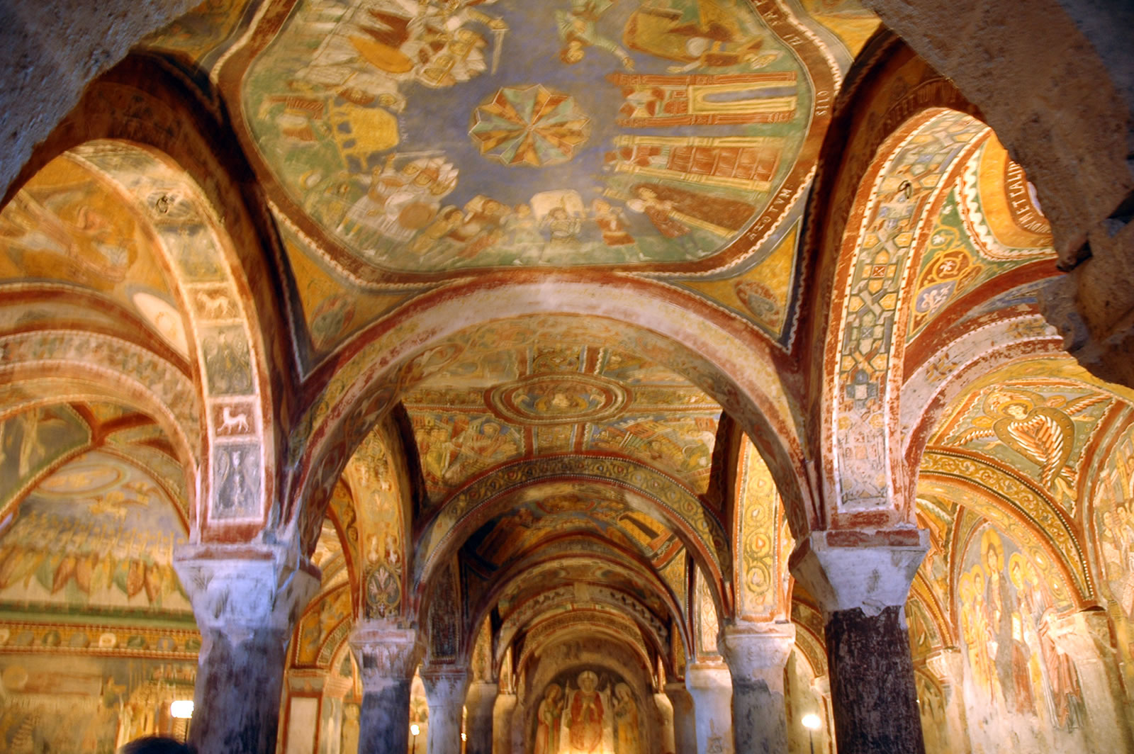 Anagni, la Cripta
