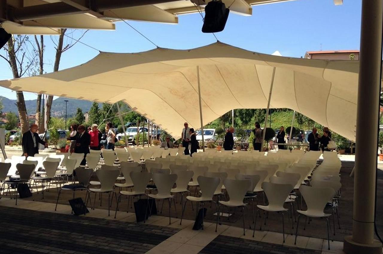 gazebo e tensostrutture - organizzazione eventi