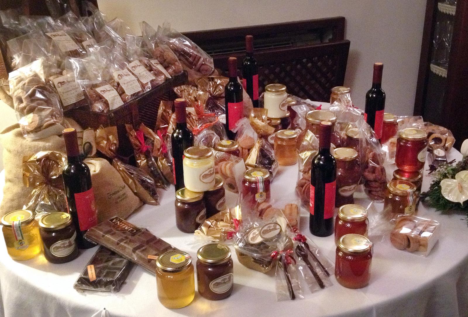 Miele e liquori artigianali