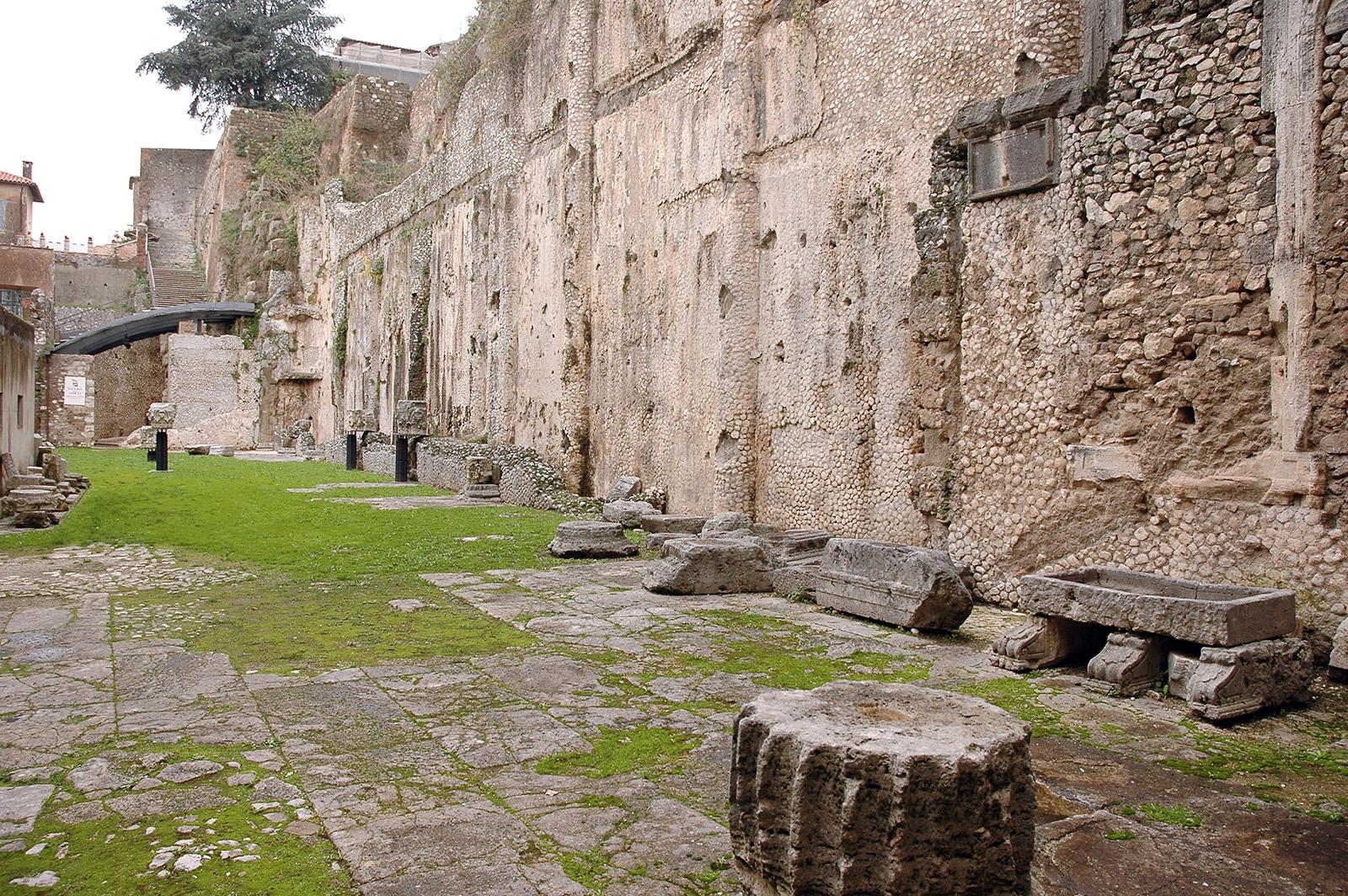 Palestrina, Tempio della Dea Fortuna