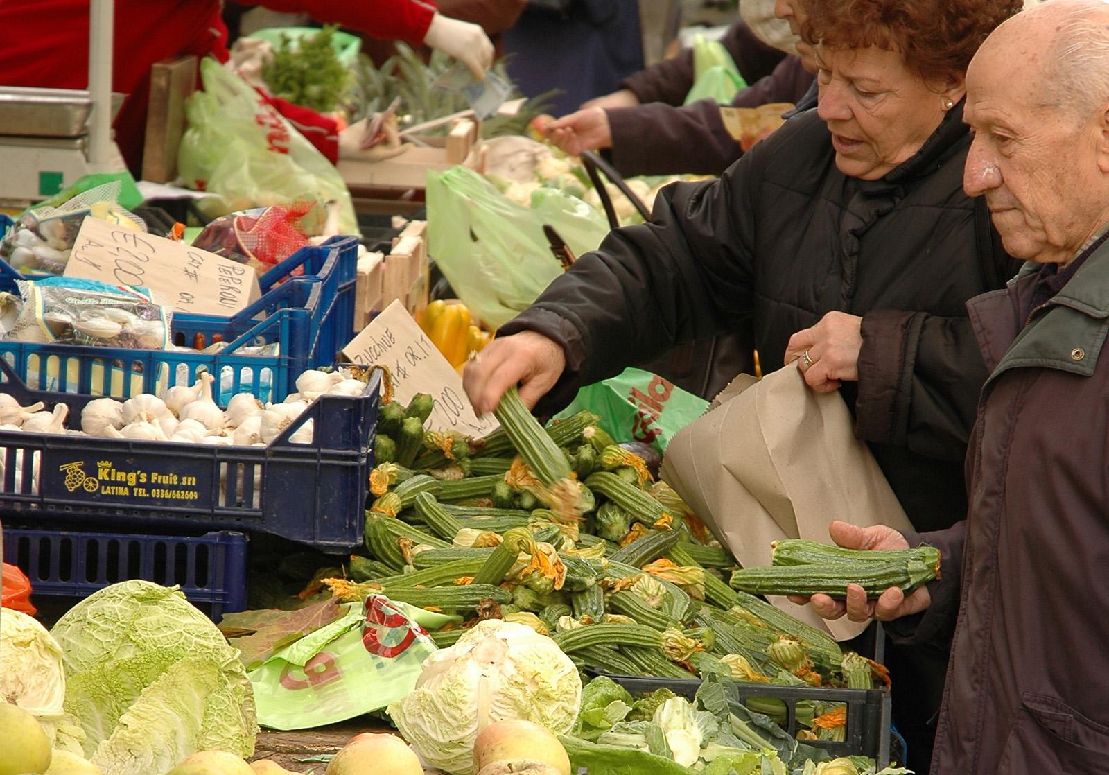 Spesa al mercato