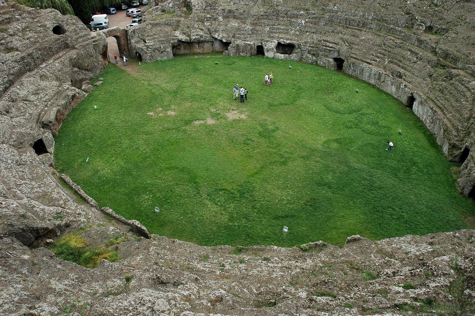 Sutri, Anfiteatro Etrusco
