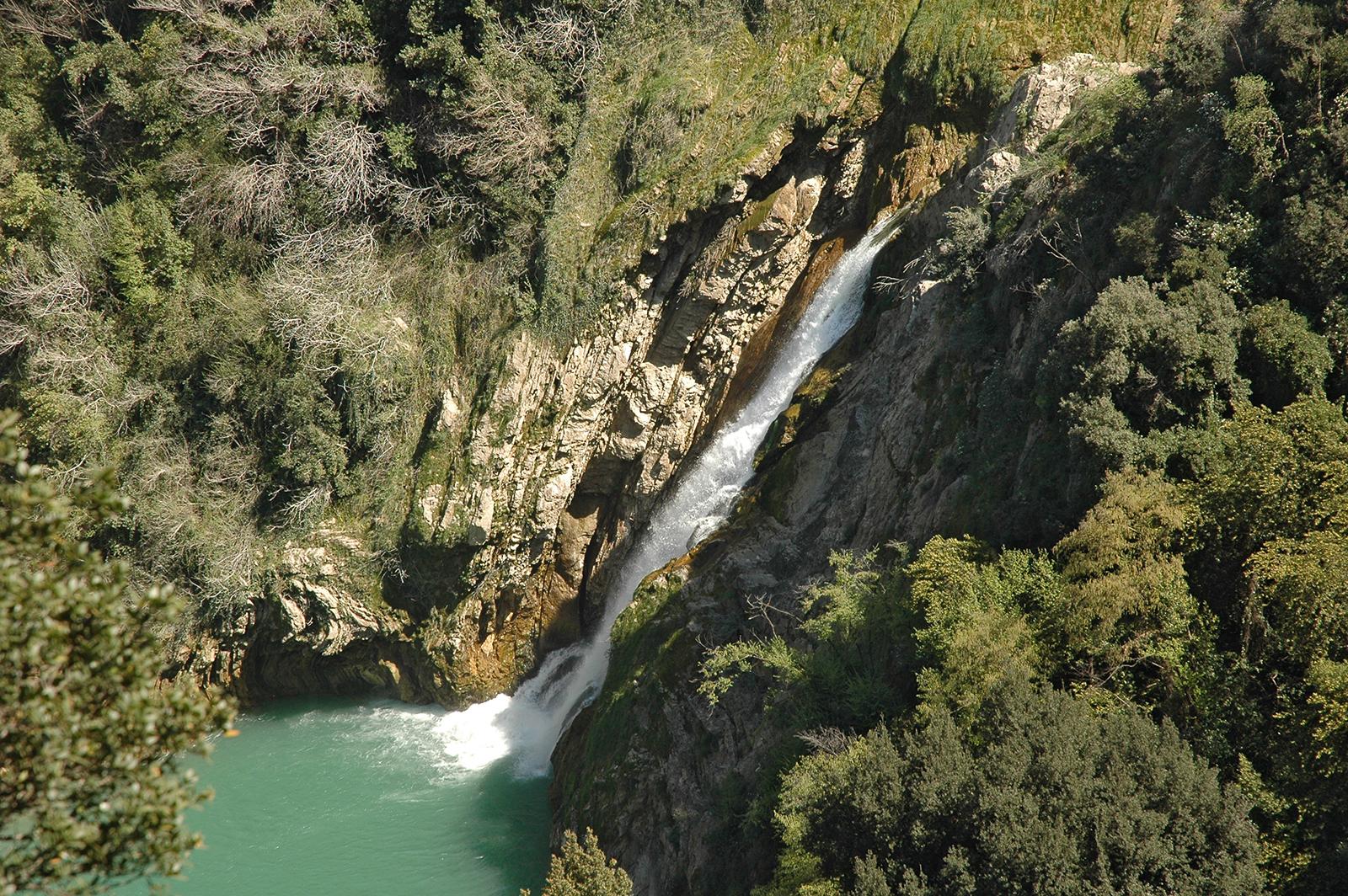 Tivoli, Cascate della Valle dell'Inferno