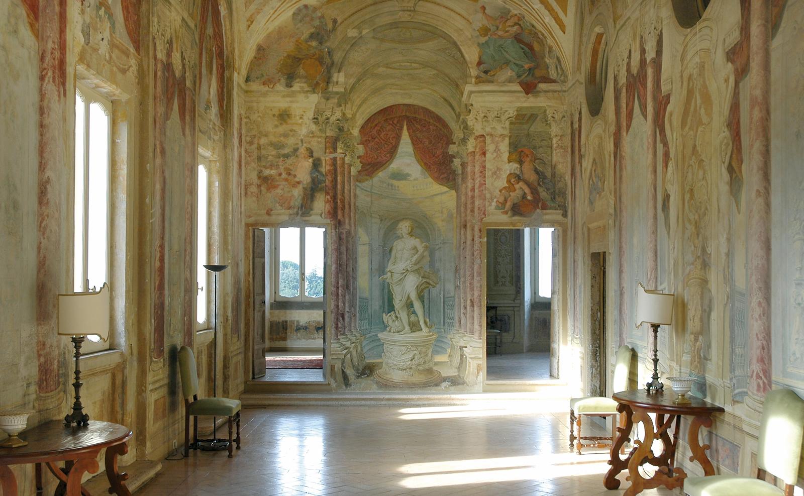 Villa Grazioli, Galleria del Pannini