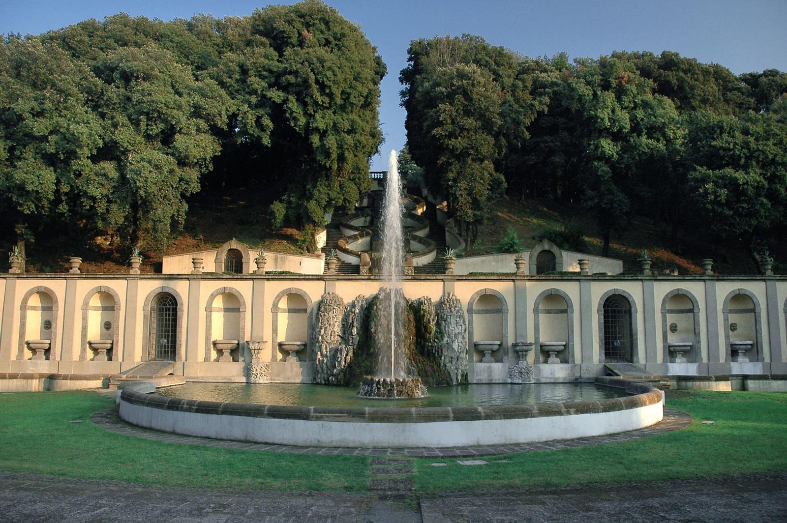 VIlla Torlonia, Teatro delle Acque