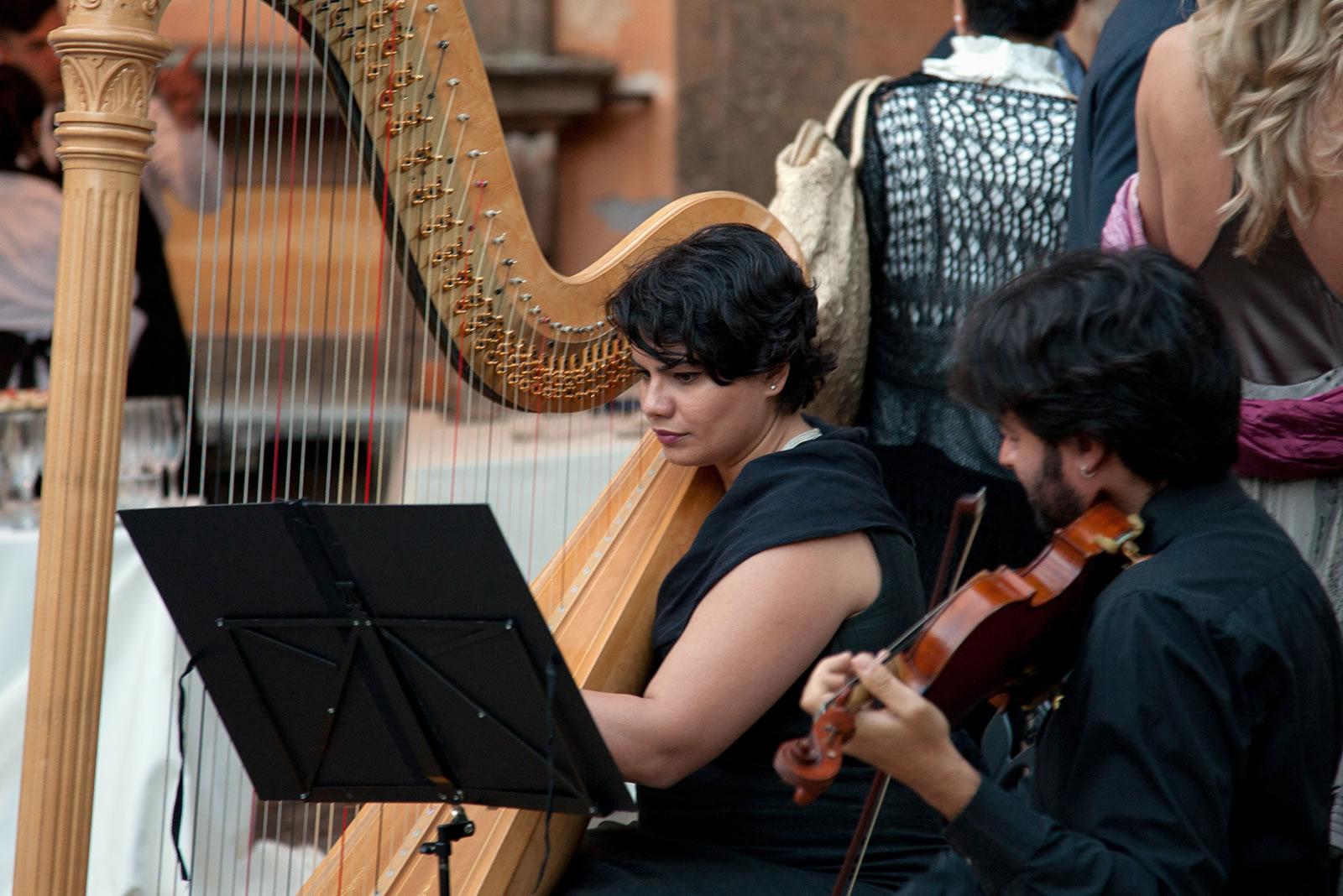 Musica Classica, Arpa e violino