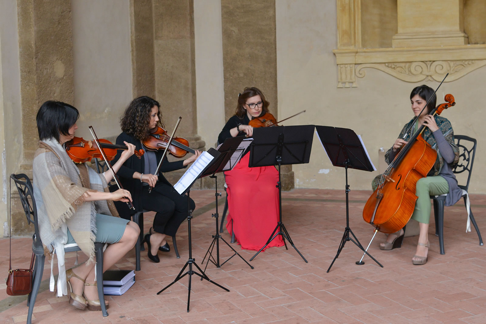 Performance quartetto d'archi