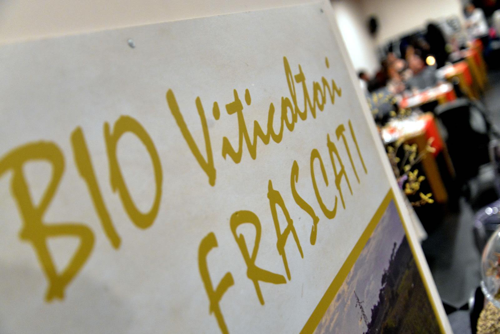 Vini biologici Frascati